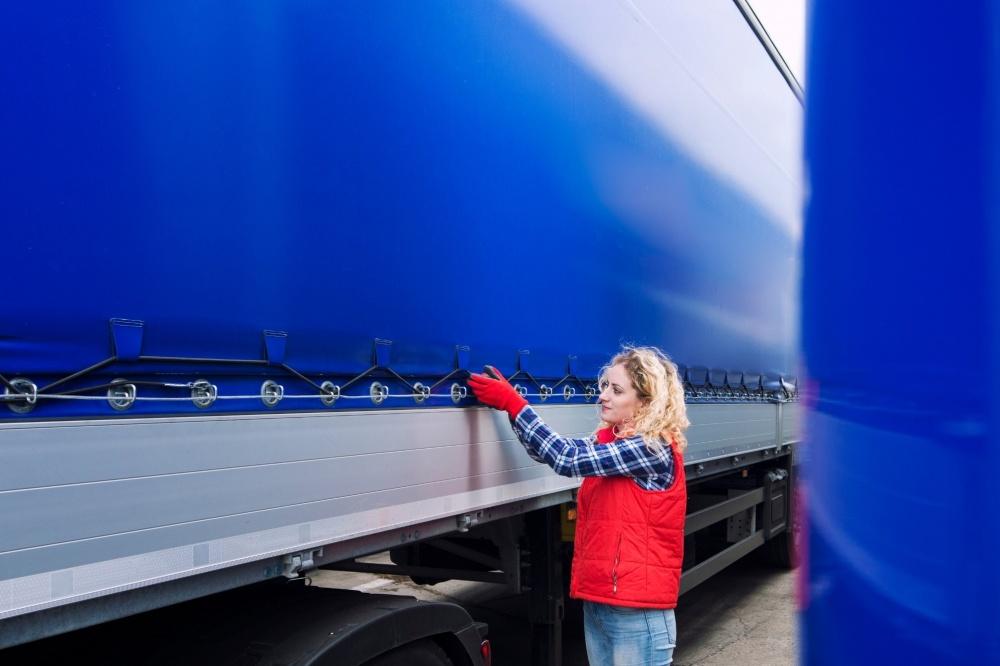 camionista donna