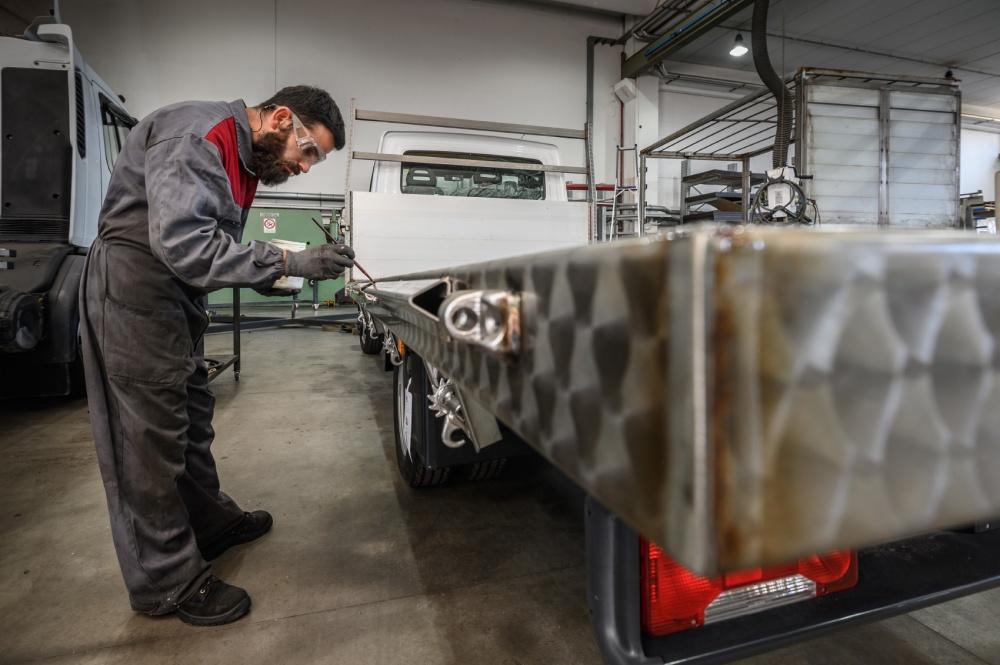 carpenteria camion