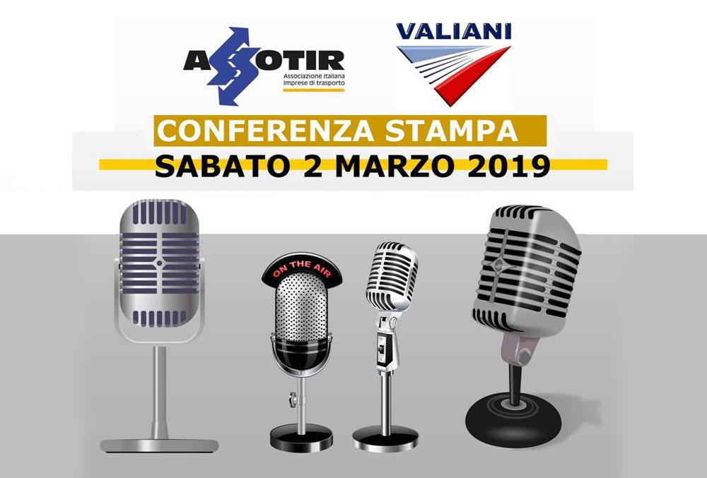 Conferenza stampa Assotir Valiani