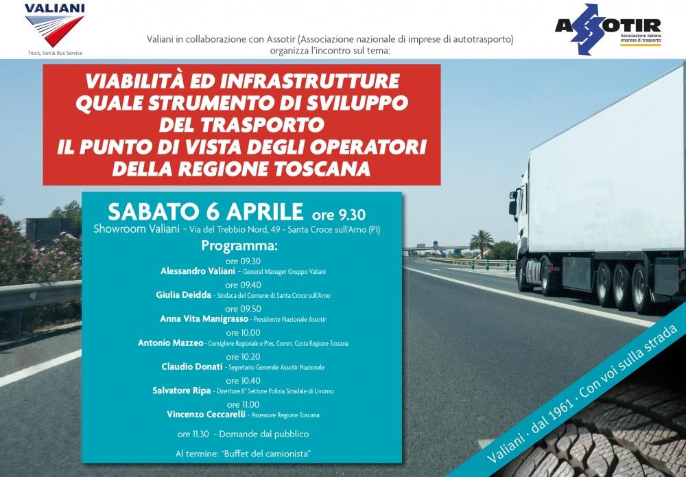 evento valiani viabilita infrastrutture