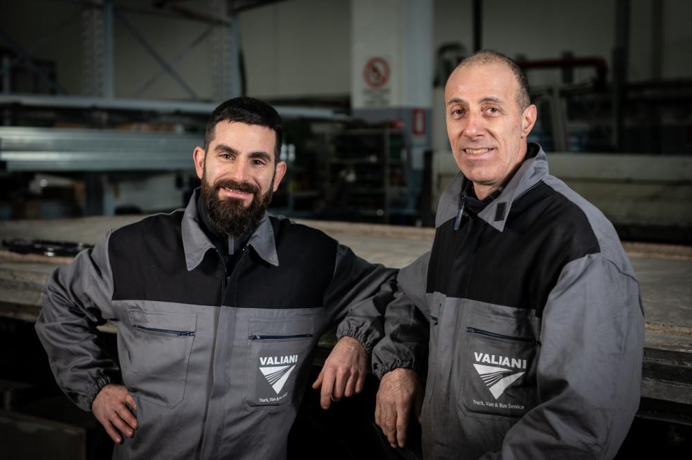 riparazione sinistri veicoli industriali