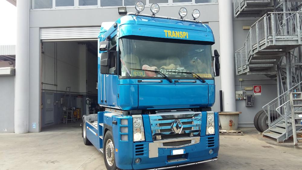 Ripristino trattore Renault