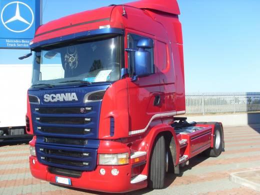 Ripristino trattore Scania