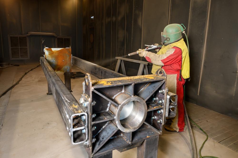 sabbiatura filtropressa industriale