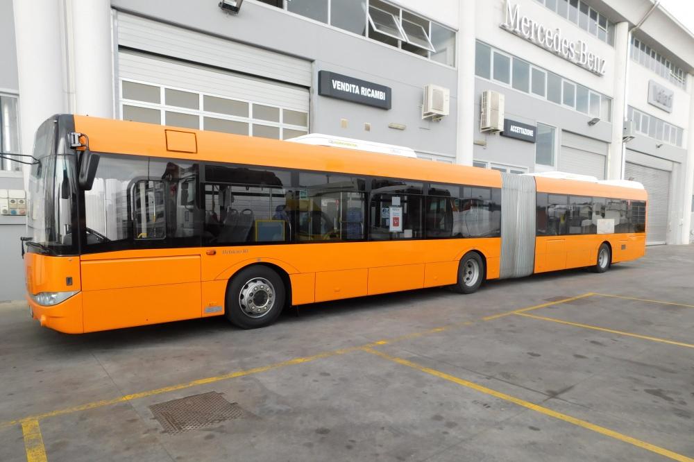 verniciatura bus